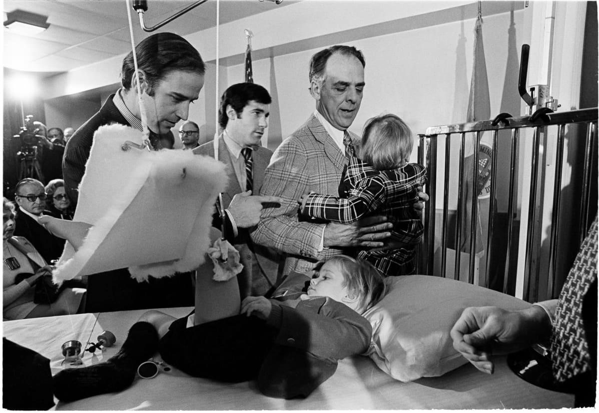 Joe Biden ja lapset sairaalassa 1972