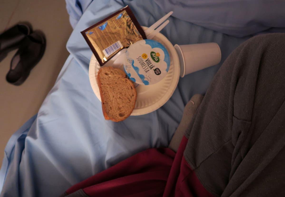 Vankilan aamiainen.