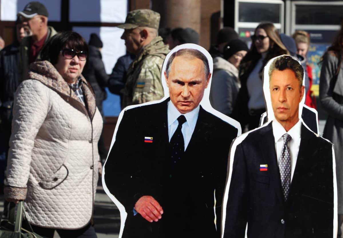 Putin ja Boyko.