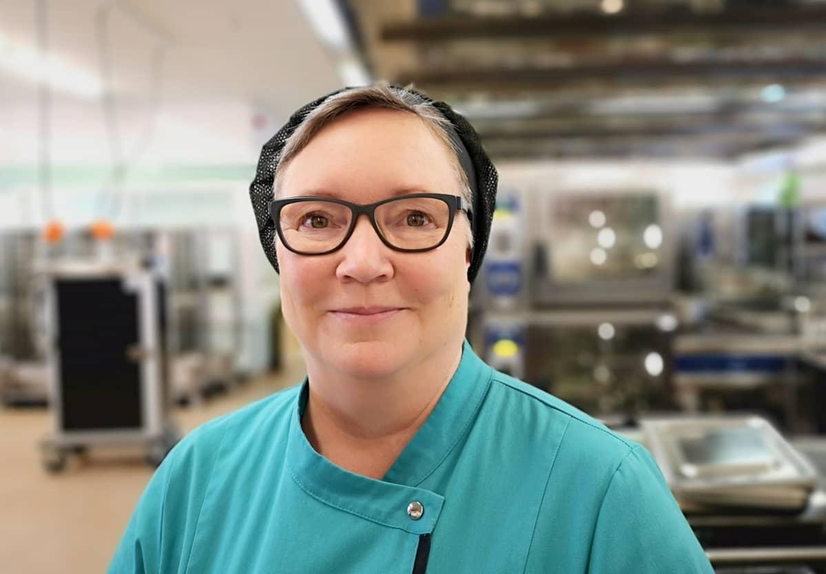 Mikkelin Ison Padan tuotantosuunnittelija Marja Jussi-Pekka.