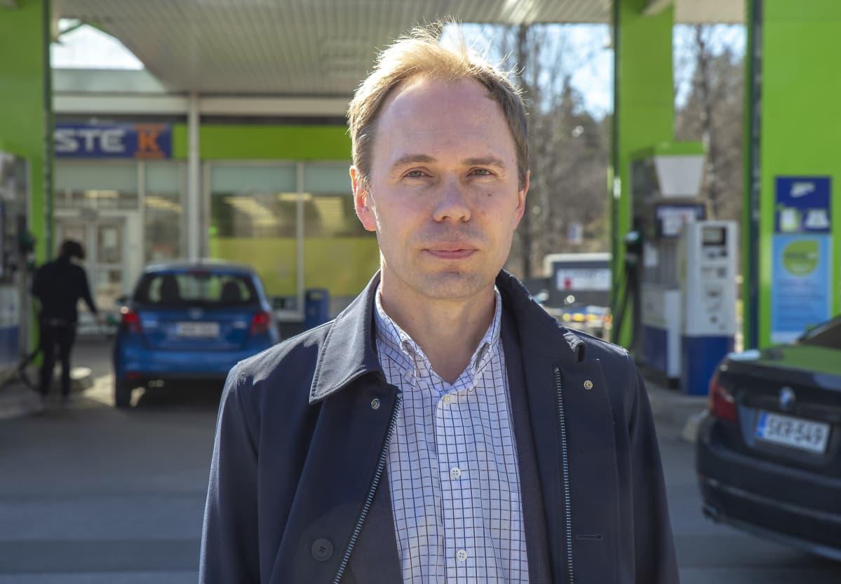 Neste Oyj.n operatiivinen johtaja Sami Oja