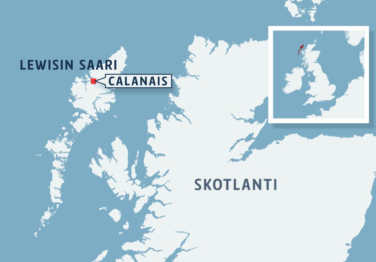 Lewisin saari Skotlannissa.