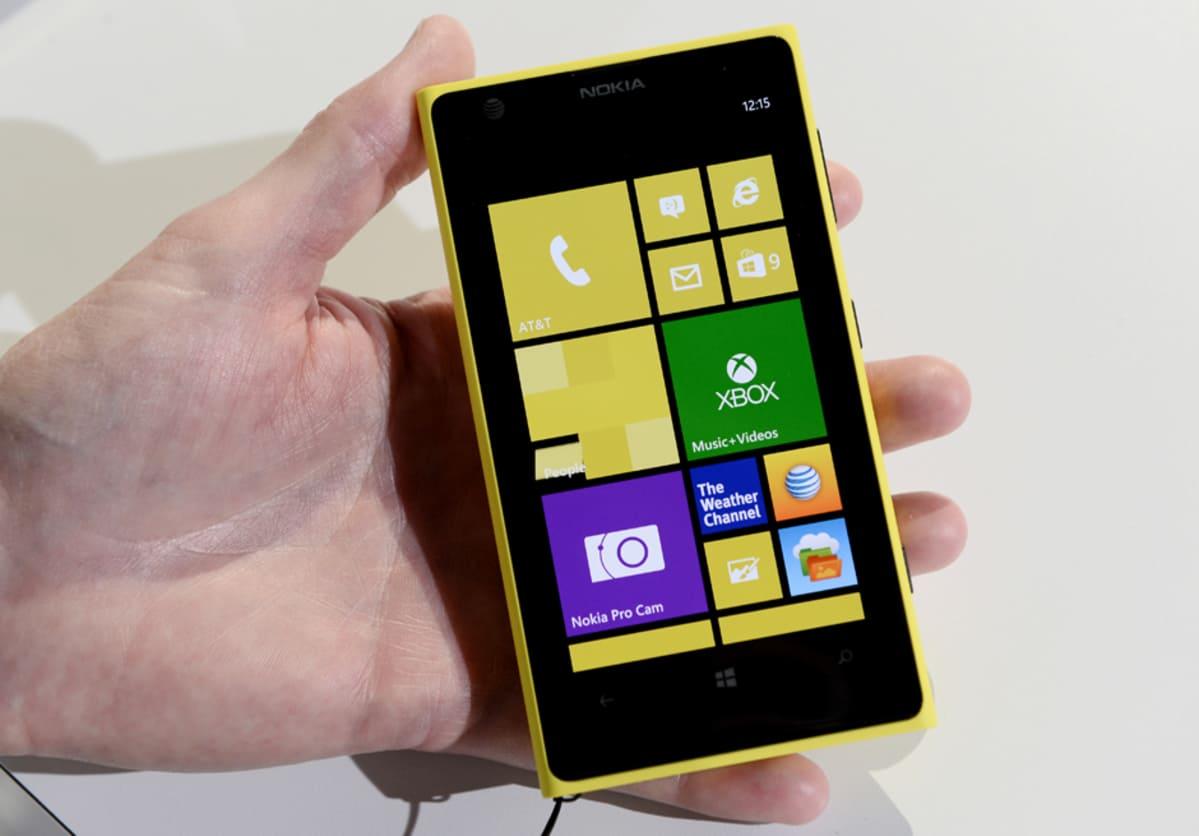 Nokian Lumia 1020 -puhelin.