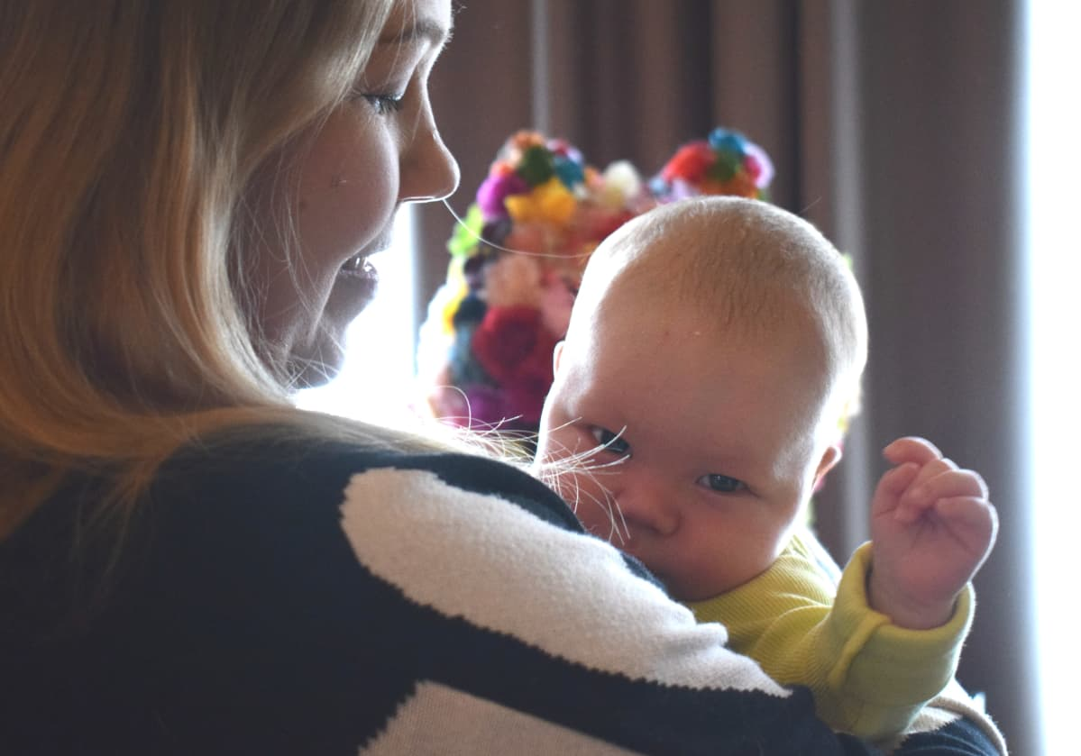 Meri-äiti ja Puro-vauva