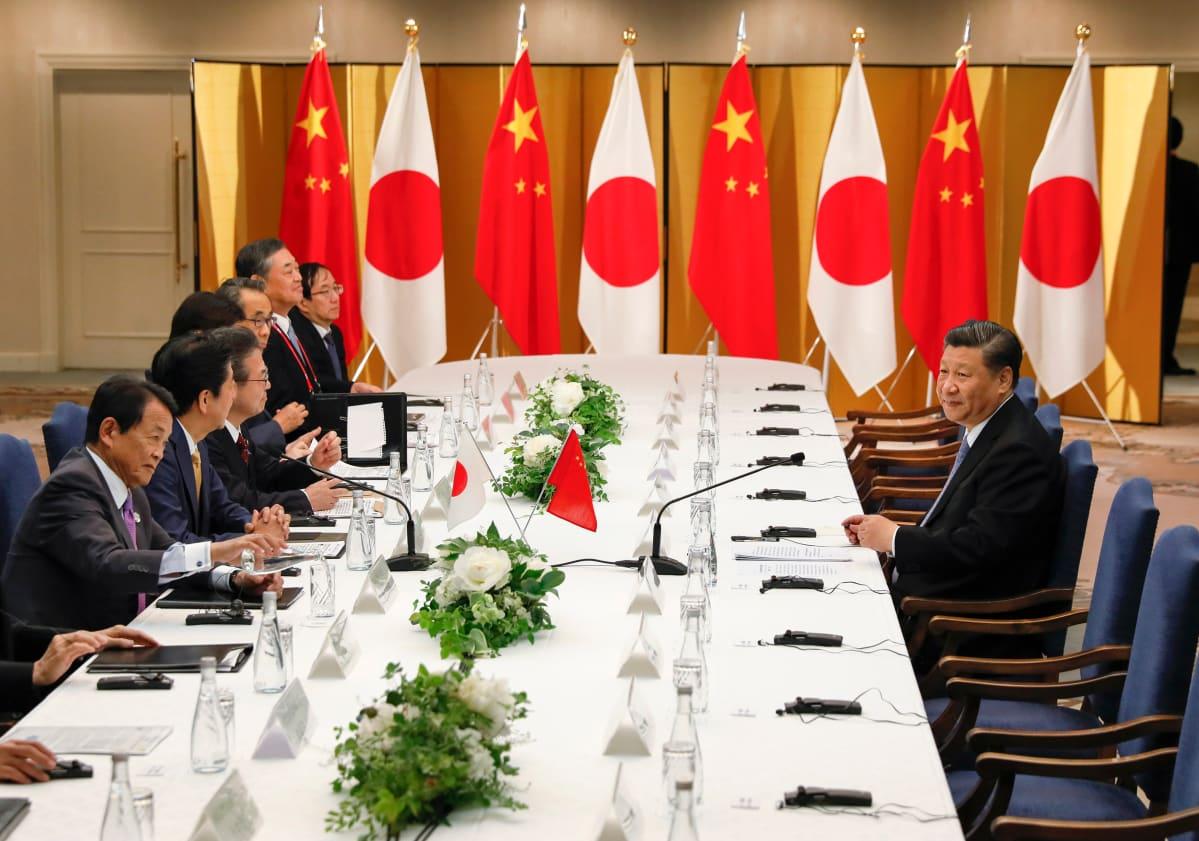 kiinan ja japanin tapaaminen