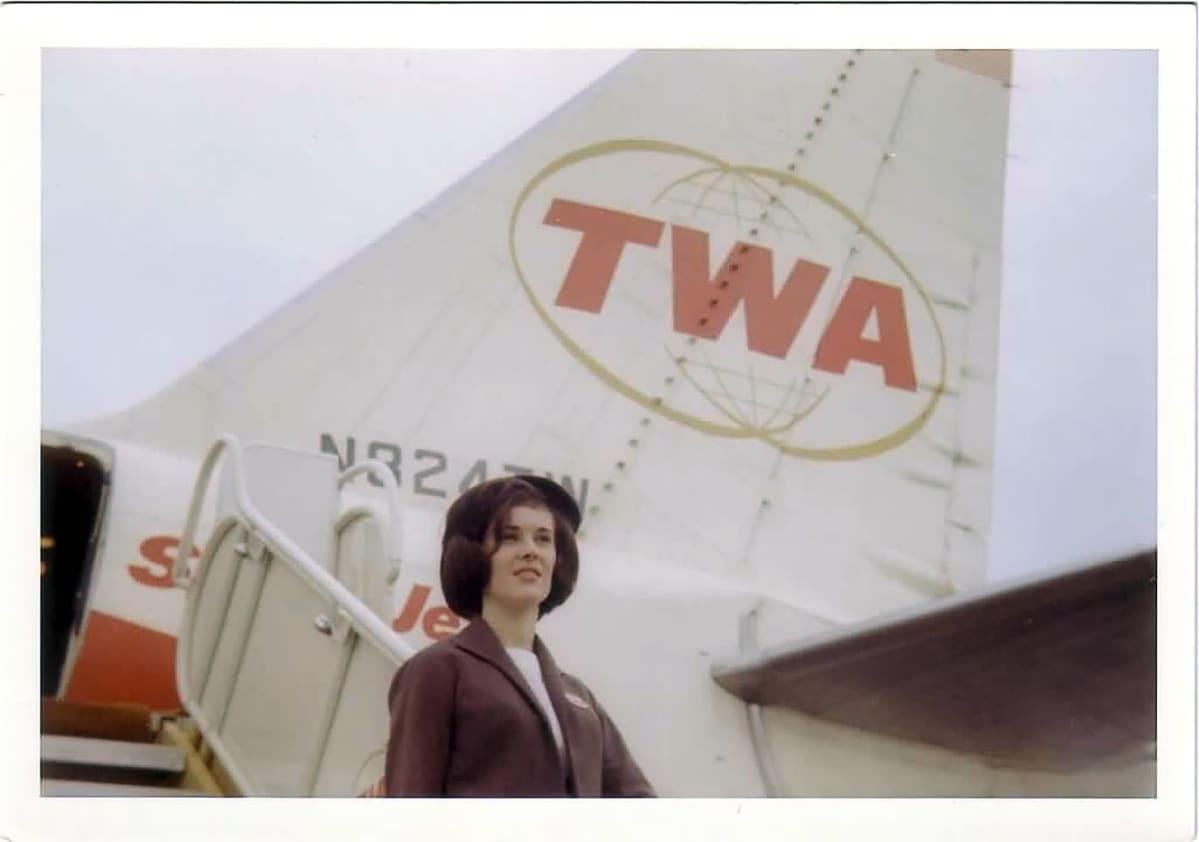 TWA Trans World Airways hotelli NYC John F. Kennedy lentokenttä New York. Anne ODwyer
