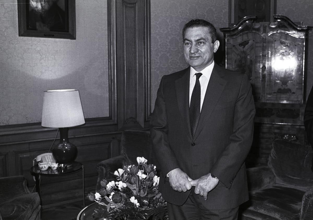 Hosni Mubarak 1989.