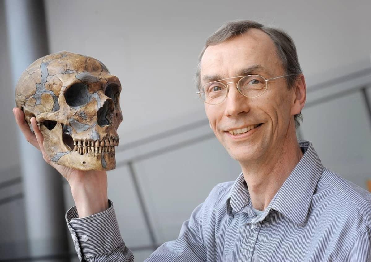 paleogeneetikko Svante Pääbo, Max Plant -instituutti, Liepzig, Saksa
