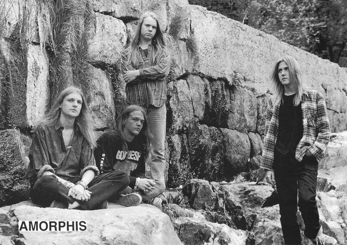 Amorphis, Rotting Ways to Misery, death metal