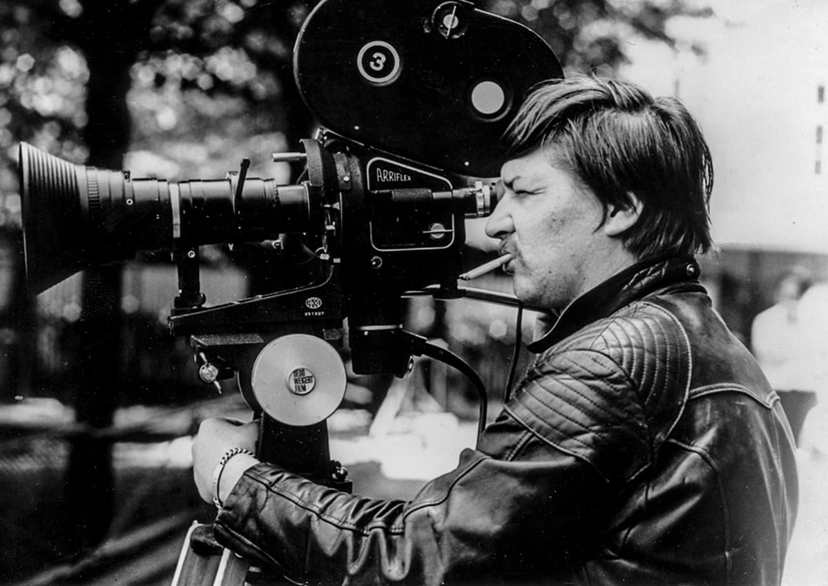 Rainer Werner Fassbinder kameran takana