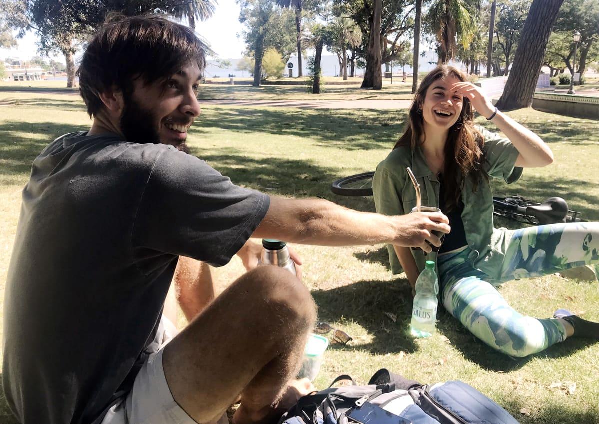 Lucas Ramirez ja Lucía Castro