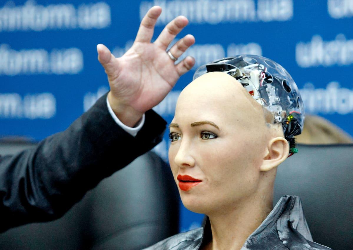 Humanoidirobotti Sophia