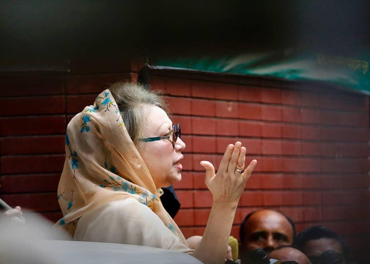 Khaleda Zia.