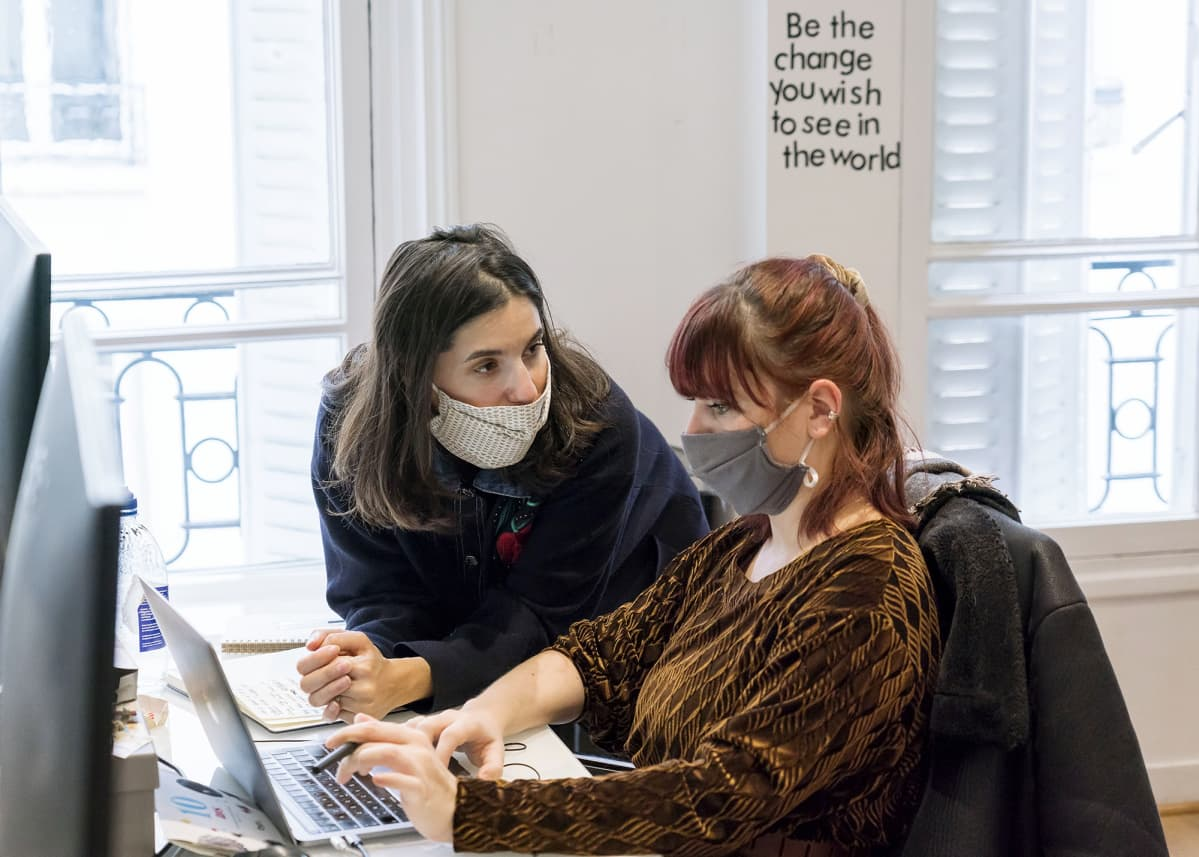 Pariisilaisen Wishibam-yhtiön toimitusjohtaja Charlotte Journo-Baur.