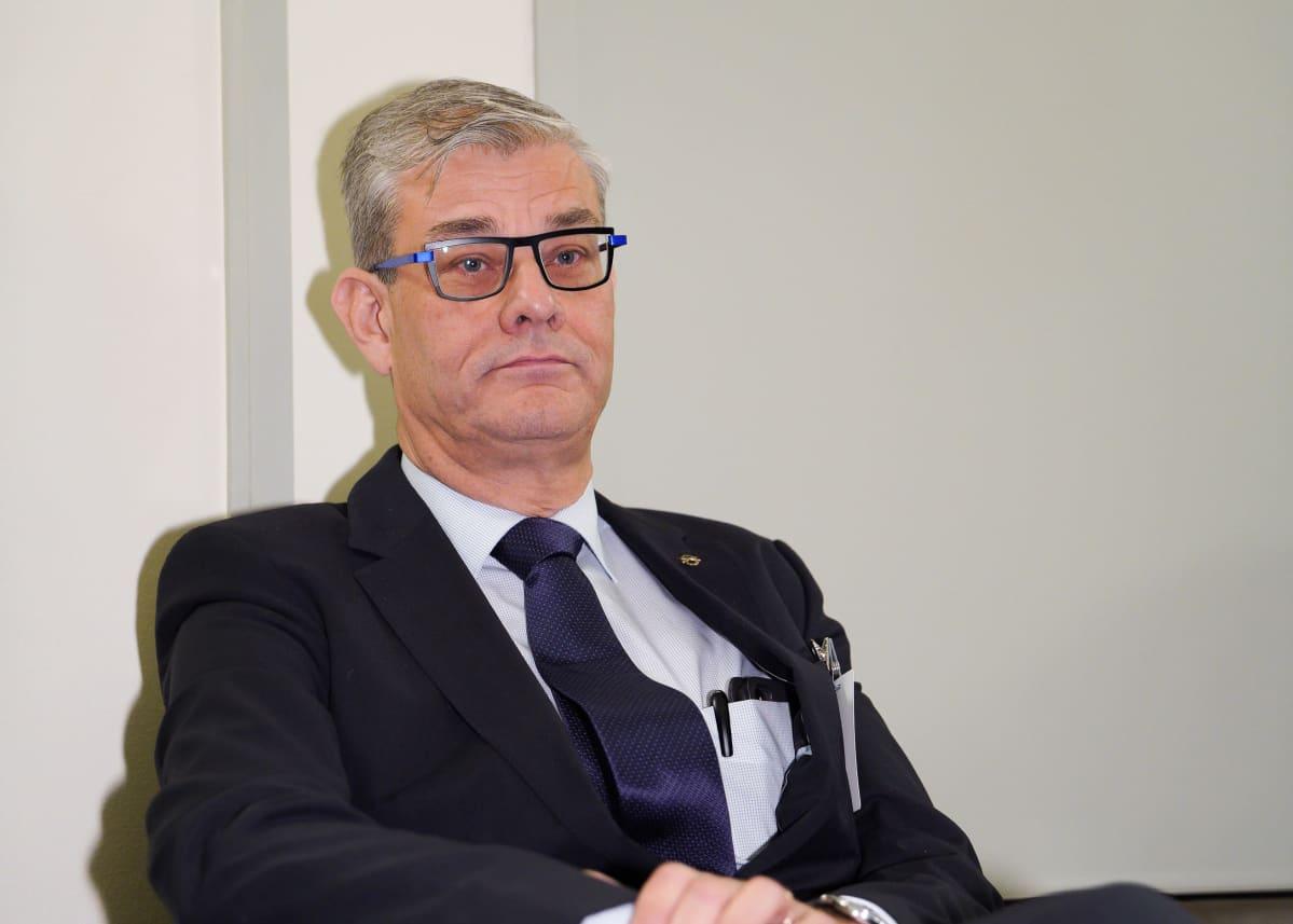 Ulkoministeriön konsulipäällikkö Pasi Tuominen