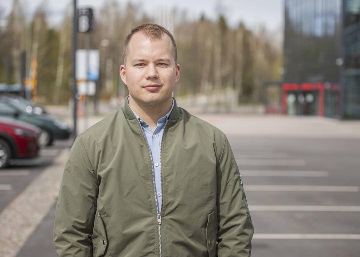LAB-ammattikorkeakoulun TKI-asiantuntija Ville Puhakka.