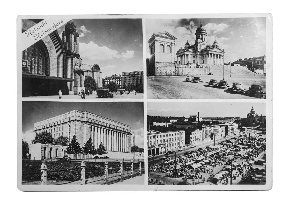 Eduskuntatalo on ollut keskeinen postikorttien kuva-aihe yhdessä Senaatintorin, Rautatieaseman ja Kauppatorin kanssa.