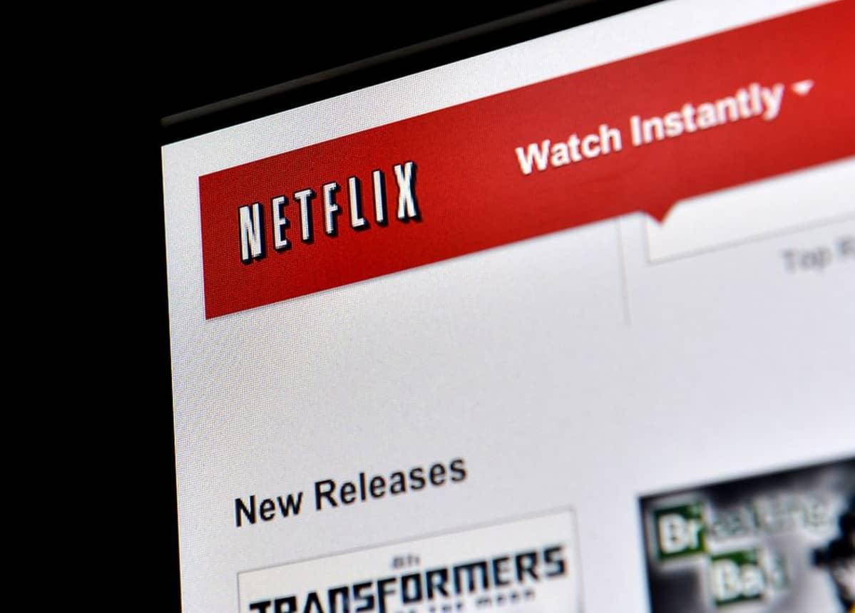 Kuva Netflix-videopalvelun www-sivusta.