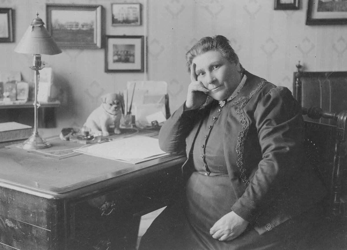 Martta-liikkeen perustaja Lucina Hagman