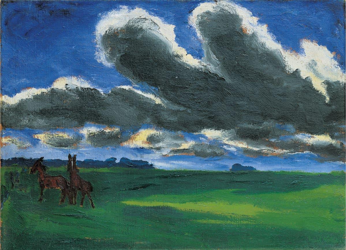 Emil Nolde pilvimaisema