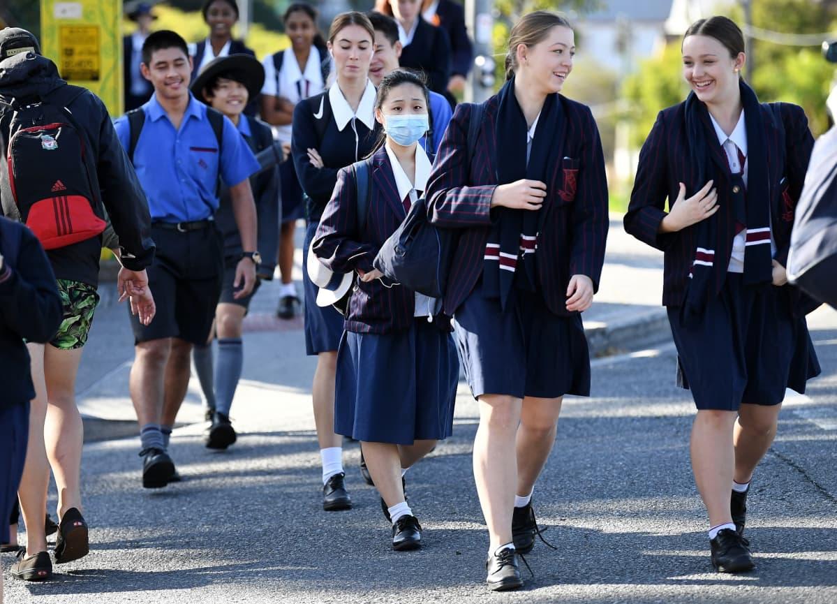 Brisbanen koululaisia