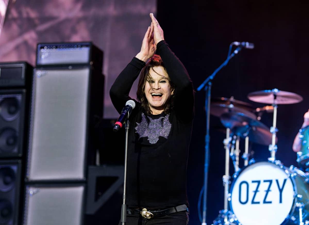 Ozzy Osbourne esiintyi viime kesänä Download festivalilla Englannissa.