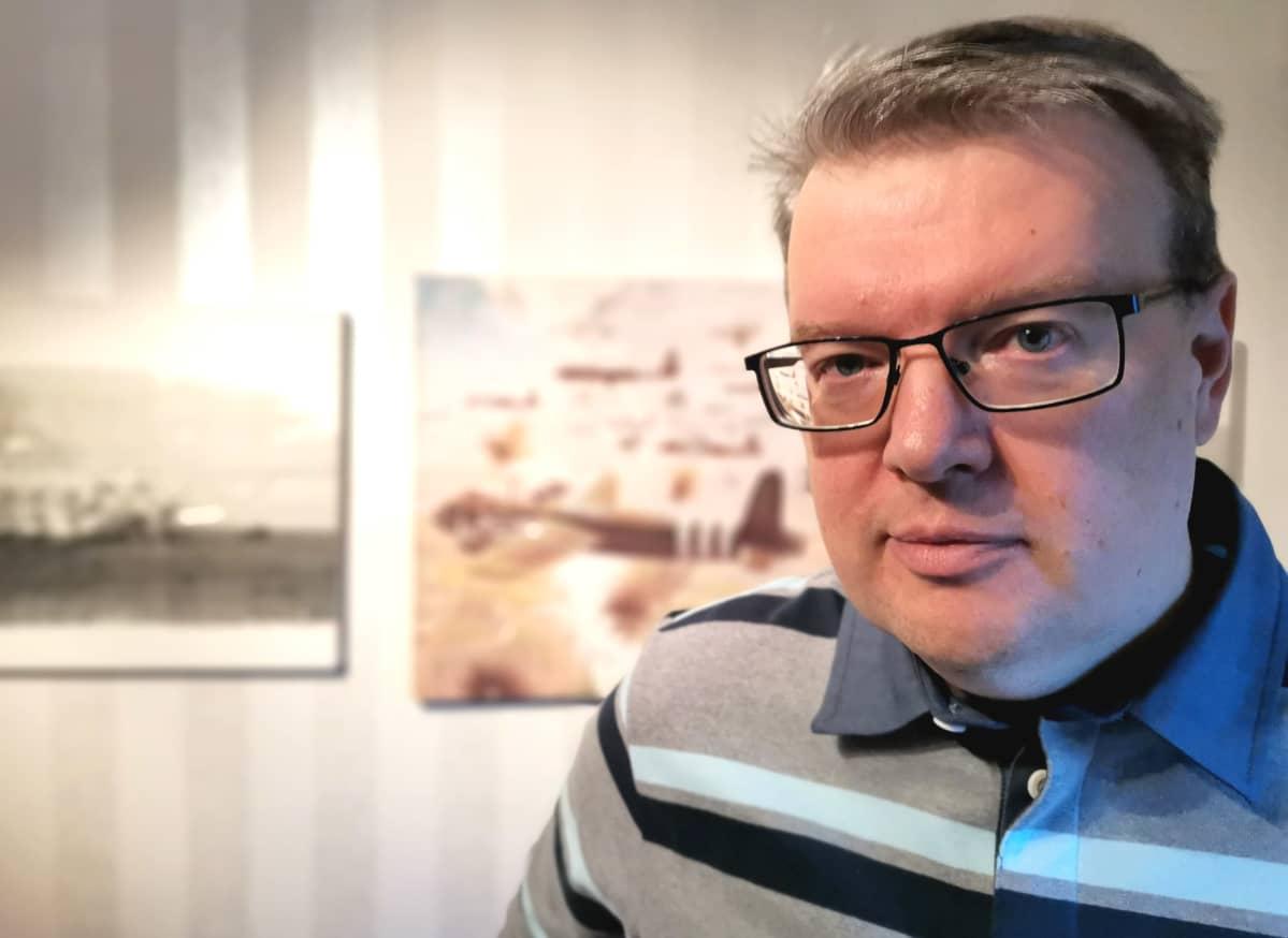 Toimittaja-kirjailija Pentti Perttula