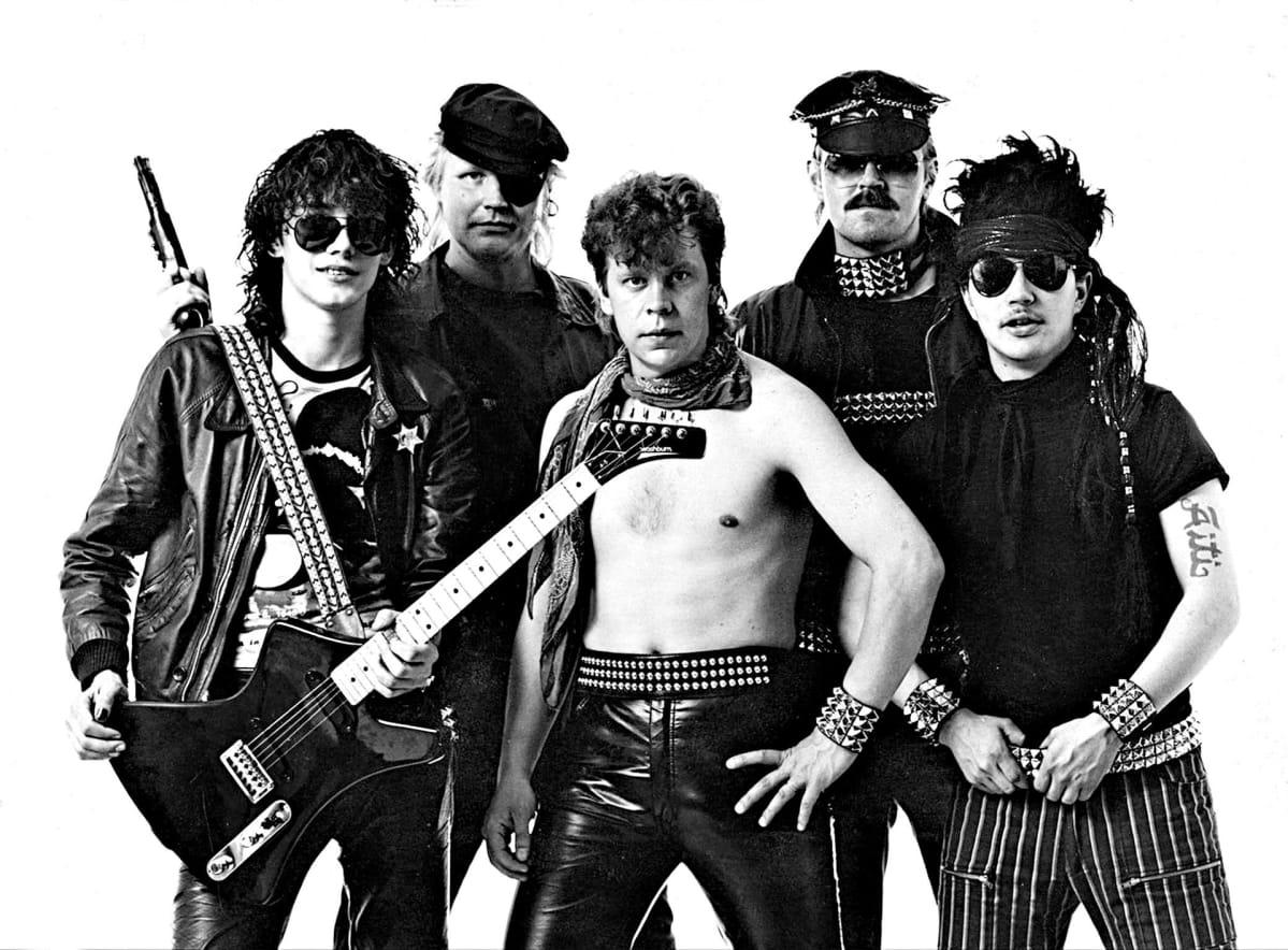 Popeda vuonna 1982.