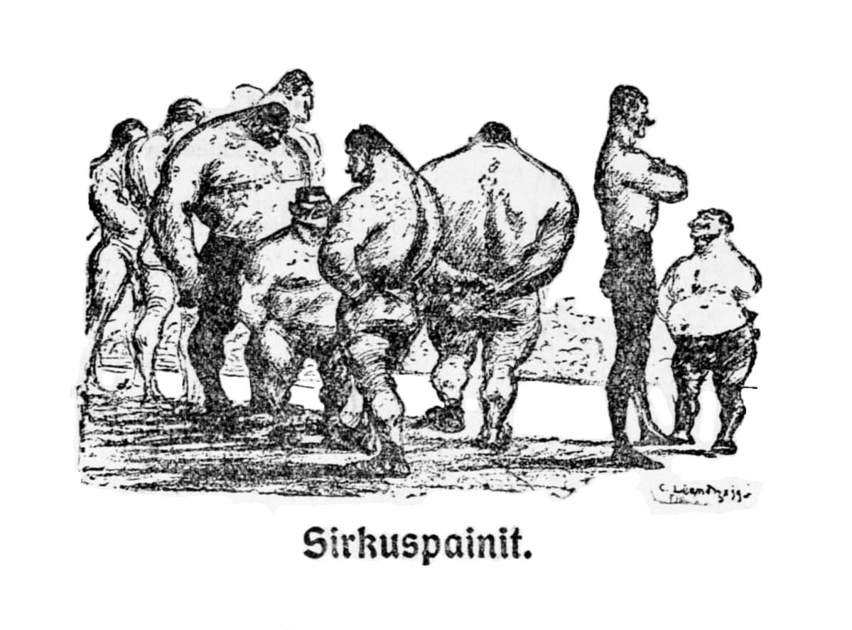 sirkuspaini, HS 30.10.1910