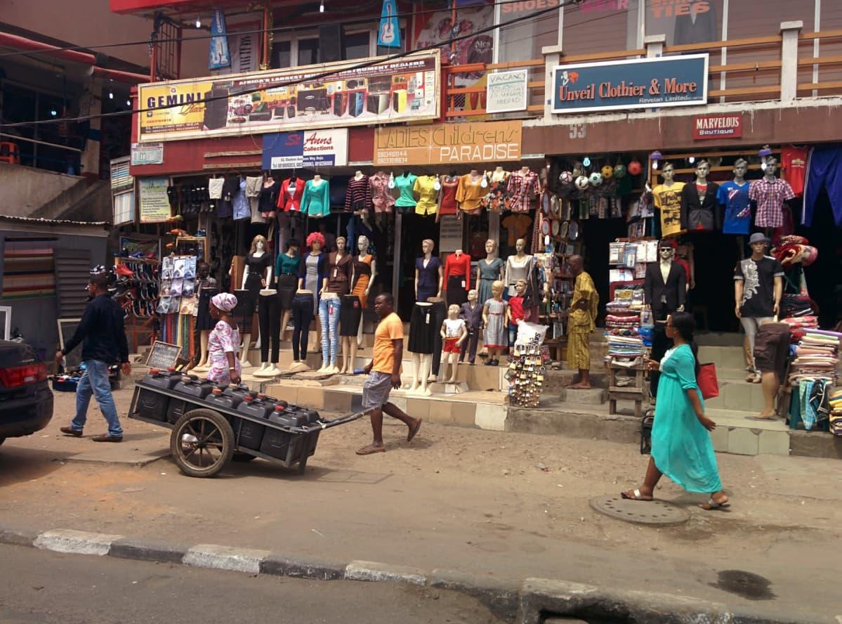 Nigerian kauppa.
