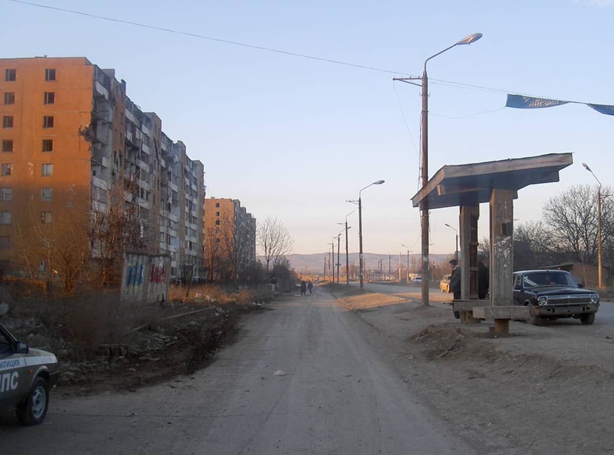 Bogdan Hmelnistkovo-katu oli autio