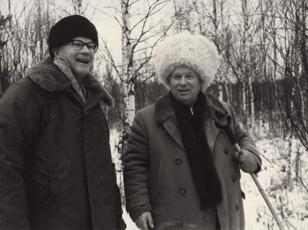 Urho Kekkonen ja Nikita Hruštšov