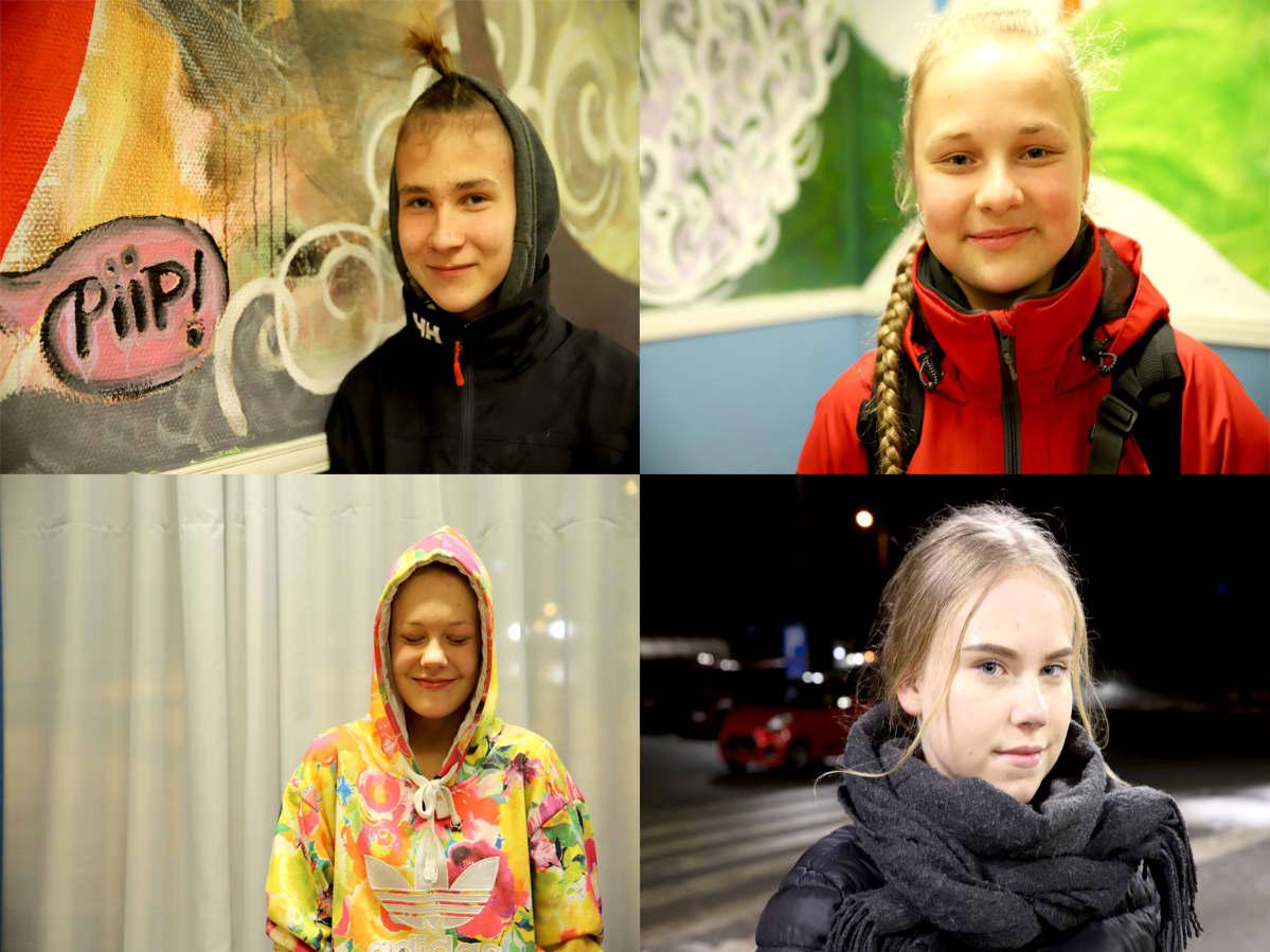 Nuoret Ajeltu tytöt