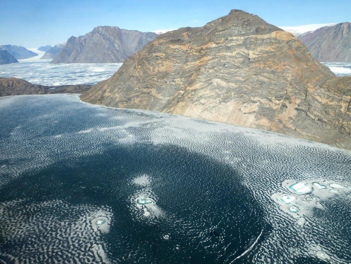 Grönlanti, Viulu-jäätikkö