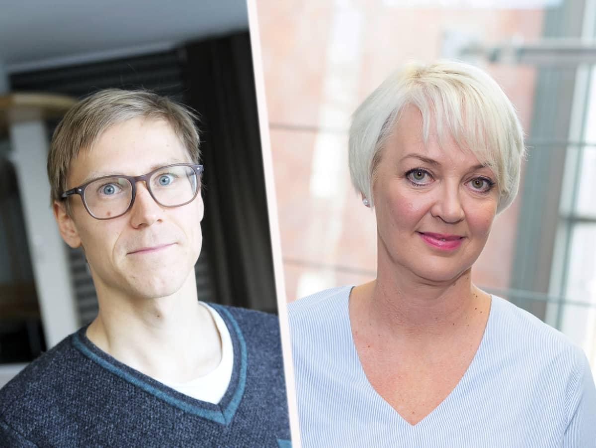 Otto Ruokolainen ja Meri Paavola