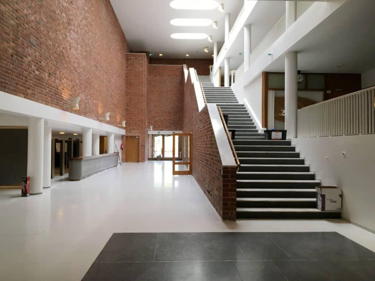 läpikulkuhalli, Jyväskylän yliopisto, Arkkitehtuurin Finlandia