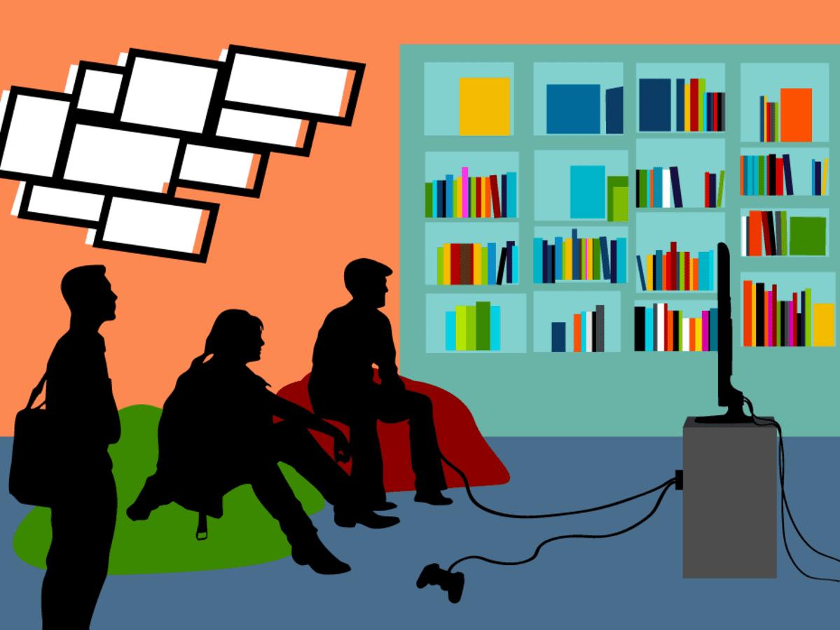 Kirjastoihin toivotaan myös toiminnallisempia tiloja.