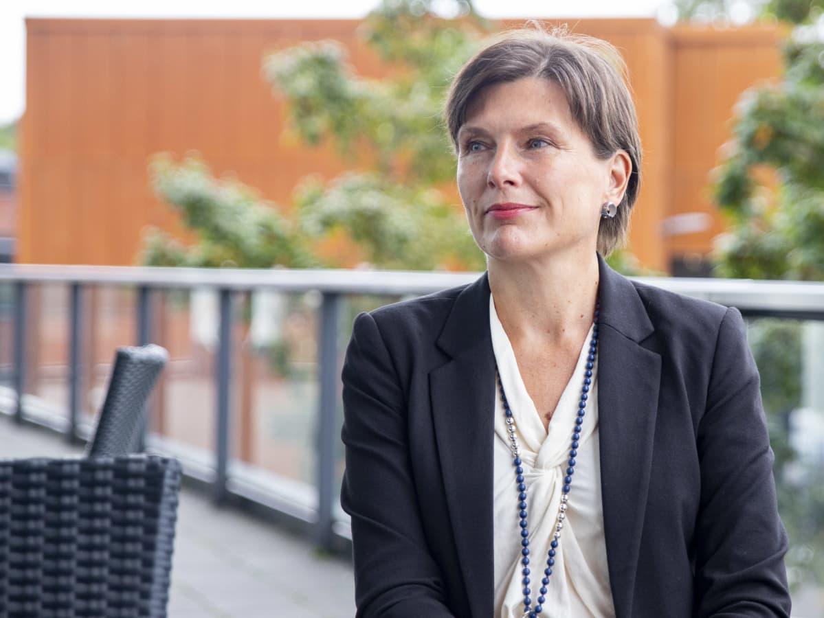 LAB-ammattikorkeakoulun lehtori Susanna Tella.