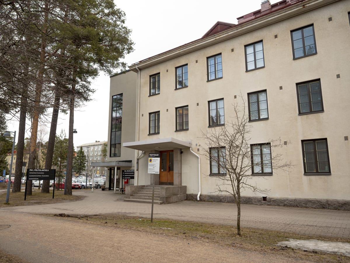 Oulun psykiatrian -, nuorisopsykiatrian poliklinikka ja musiikkiterapia rakennus