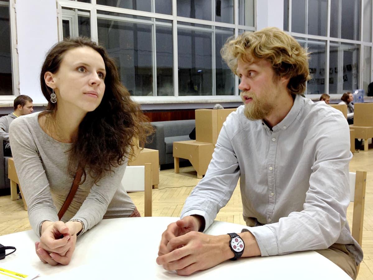 Darja Melissina ja Igor Ponosov.