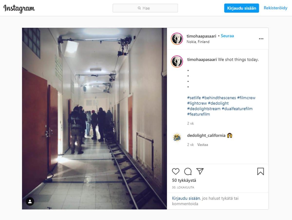 Timo Haapasaaren Instagram