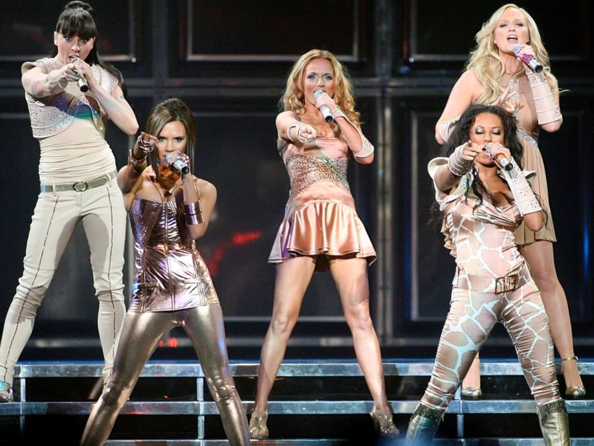 Spice Girls keikalla vuonna 2007.