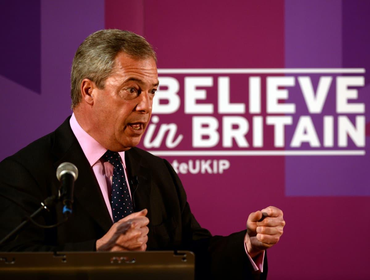 Nigel Farage ja Ukip