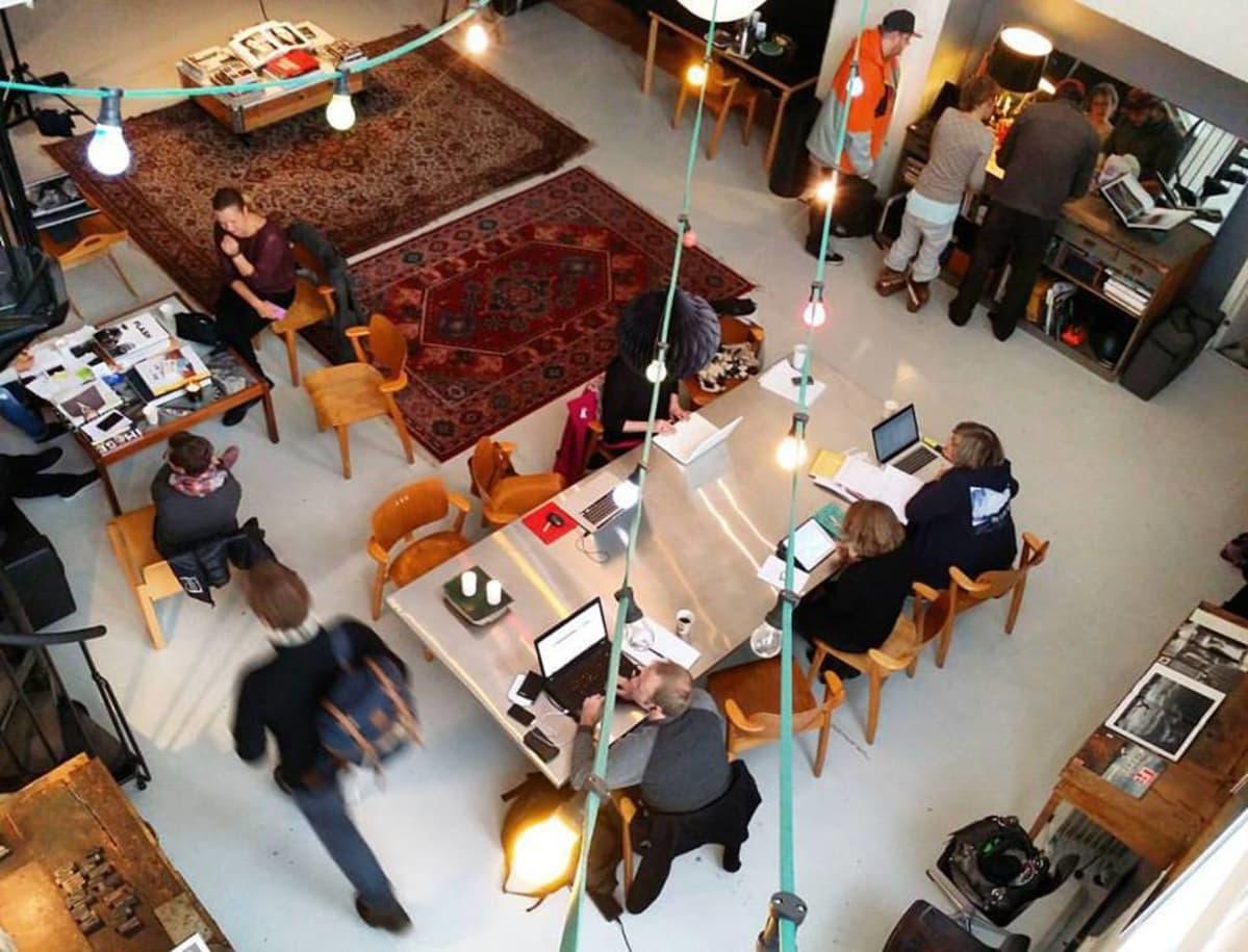 Hanko Creative Collectiven luova työpäivä houkuttelee väkeä ympäri Uuttamaata.
