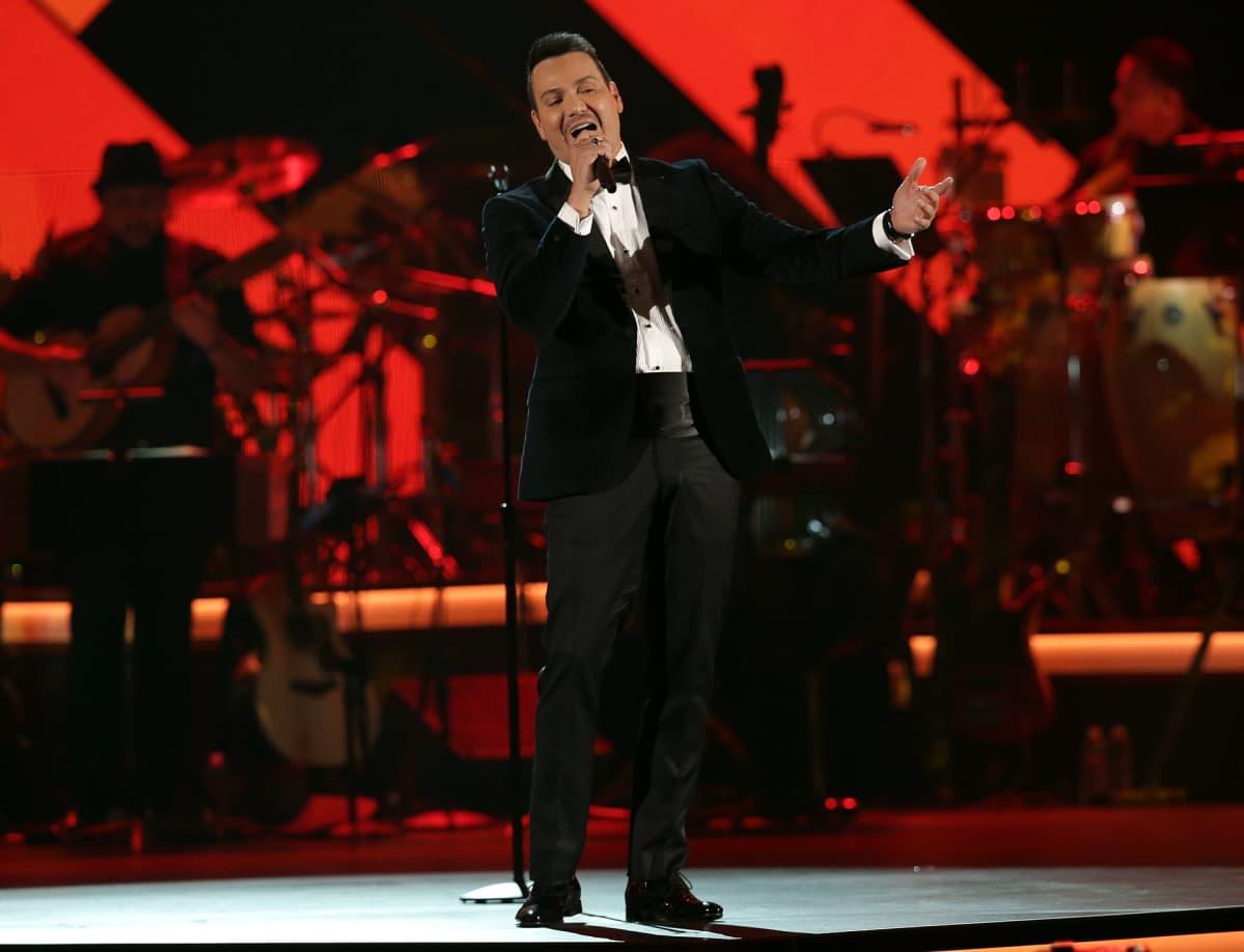 Victor Manuelle Las Vegasissa vuonna 2016.