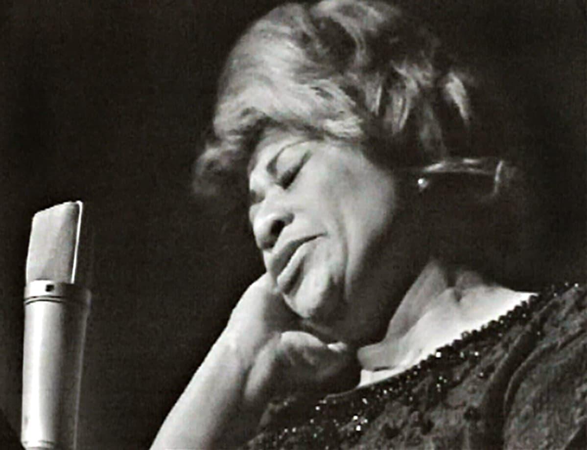 Ella Fitzgerald Helsingissä vuonna 1965