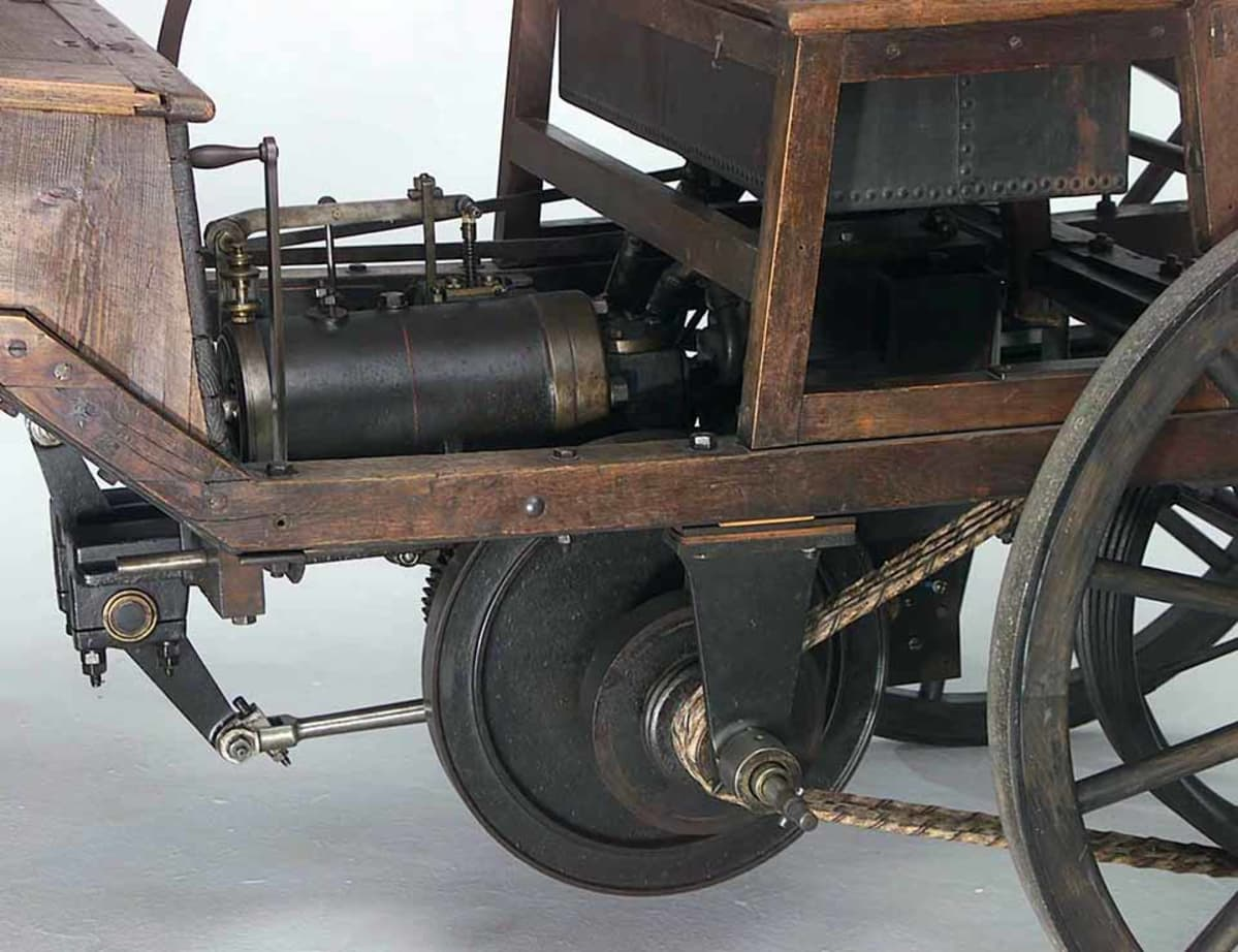 Toisen Marcus-Wagenin ongelmaksi muodostui oikutteleva hihnaveto. Alkuperäisellä autolla todistettavasti ajettu ainakin vielä vuoden 1950 jälkeen.