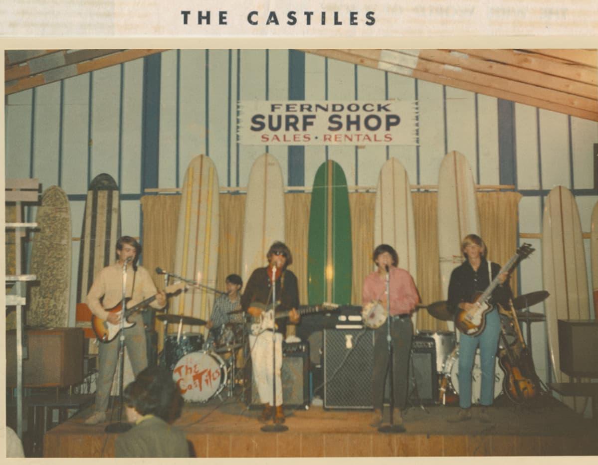 Bruce Springstenin yhtyeensä kanssa Surf and Sea -klubilla.