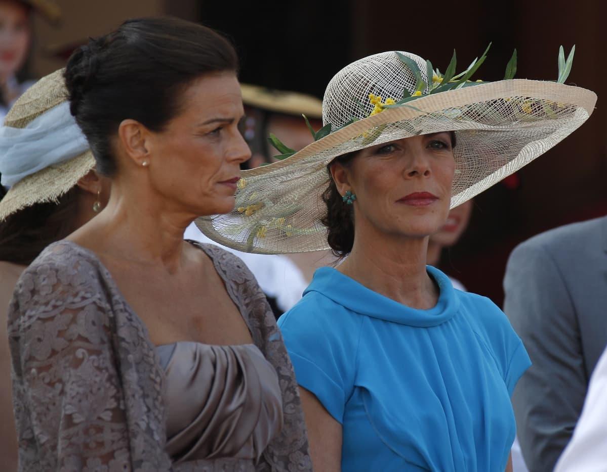 Prinsessa Stephanie ja prinsessa Caroline.