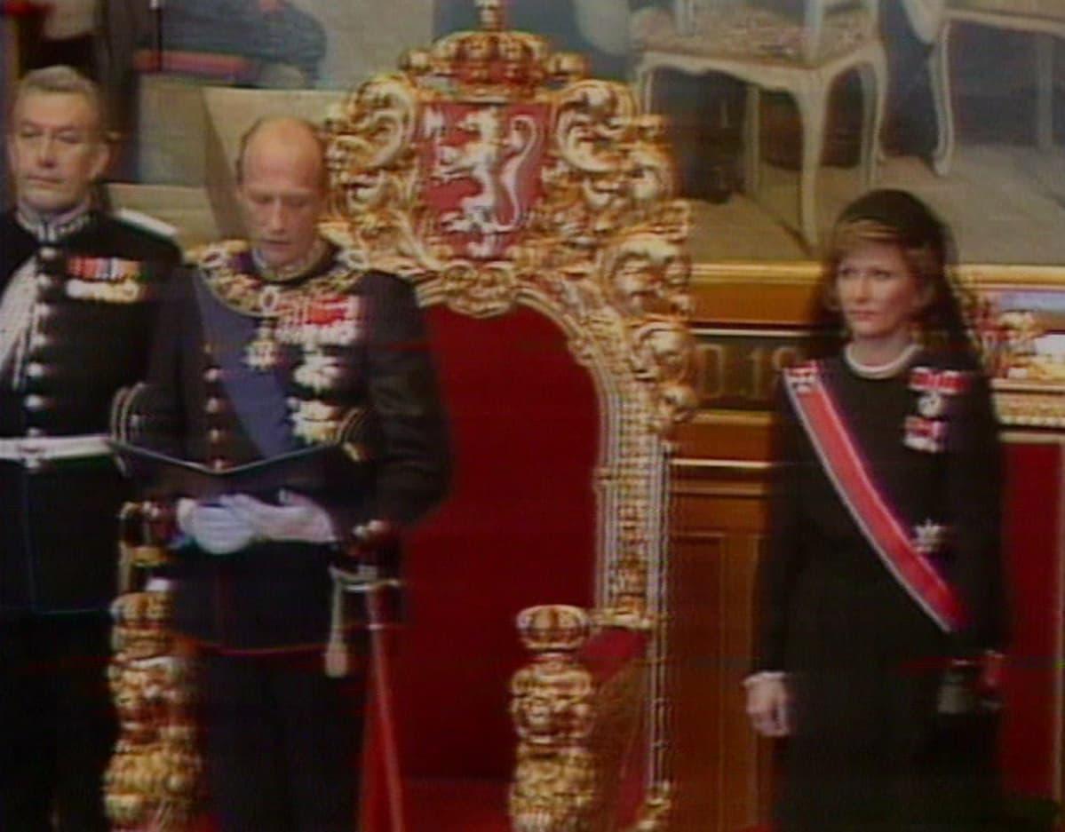 Harald vannoo valansa.